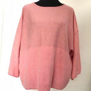 Pure Jill Cotton Cashmere Kimono Sweater NWOT